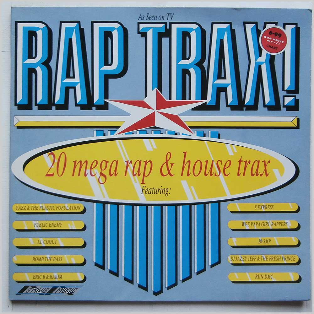 Various - Rap Trax! 20 Mega Rap and House Trax (SMR 859)