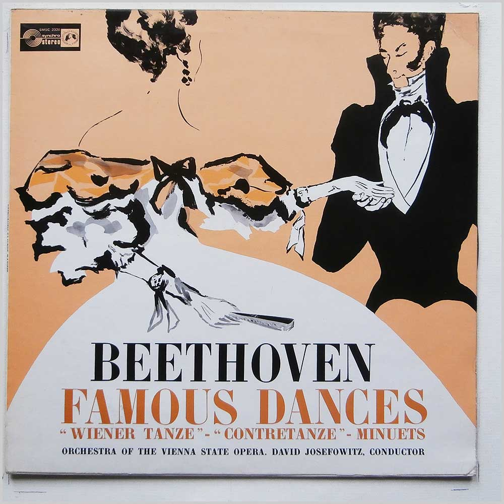 David Josefowitz, Orchestra Of The Vienna State Opera - Beethoven: Famous Dances, Wiener Tanze, Contretanze, Minutes (SMSC 2320)