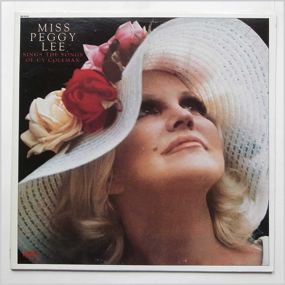 Peggy Lee - Miss Peggy Lee Sings The Songs Of Cy Coleman (SN-16140)