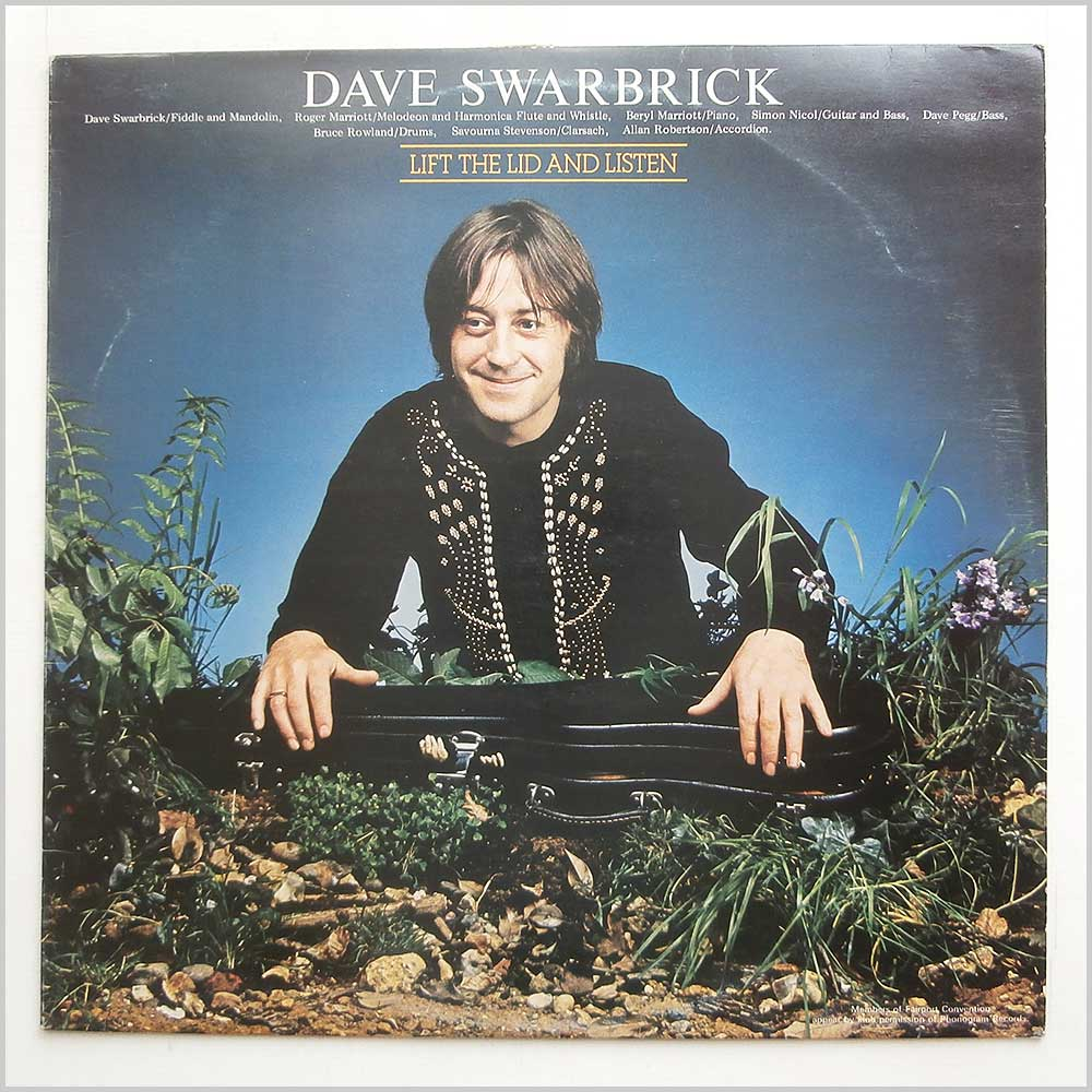 Dave Swarbrick - Lift The Lid And Listen (SNTF 763)