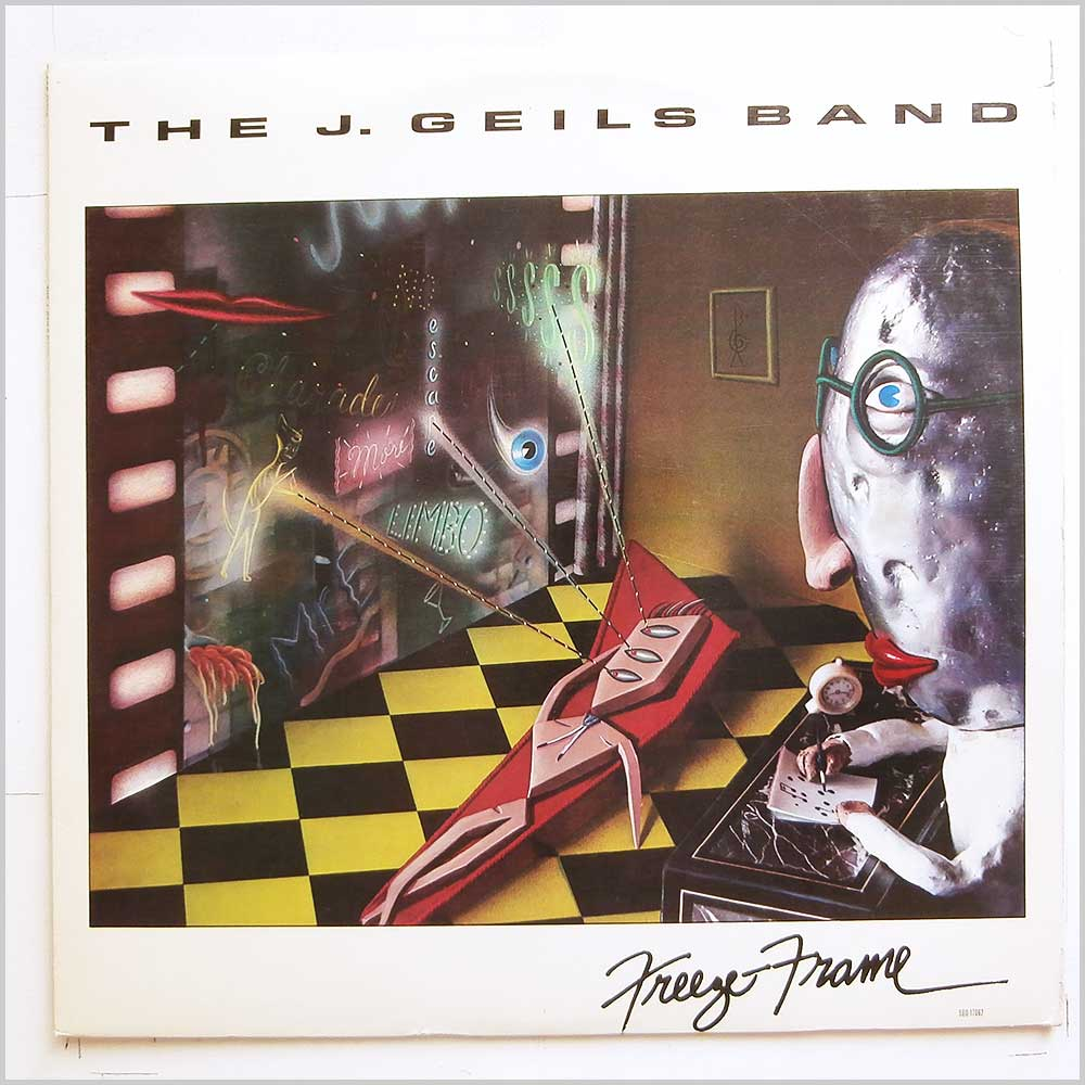 The J. Geils Band - Freeze-Frame (SOO-17062)