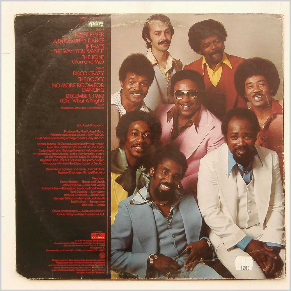 The Fatback Band - Night Fever (SP-1-6711)
