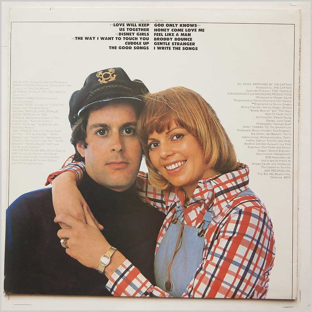Captain And Tennille - Love Will Keep Us Together (SP-4552)