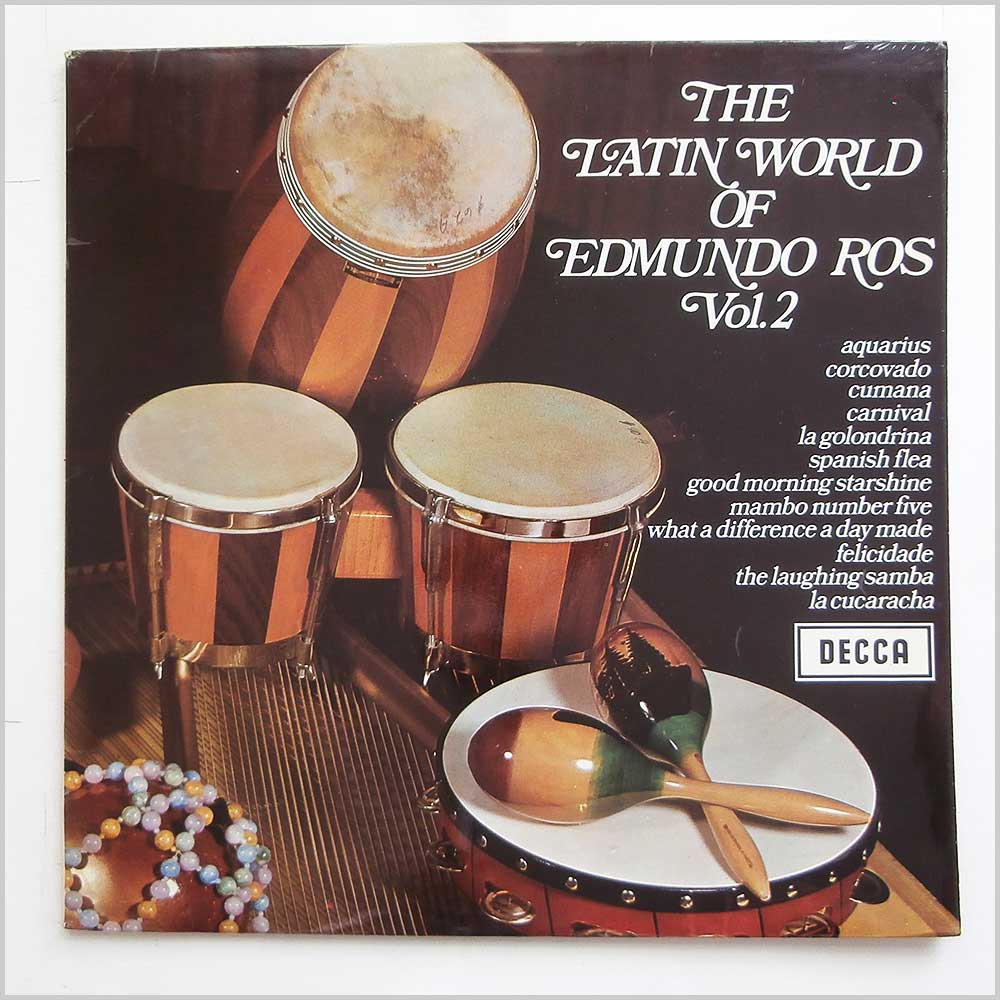 Edmundo Ros and his Orchestra - The Latin World Of Edmundo Ros Vol. 2 (SPA 59)