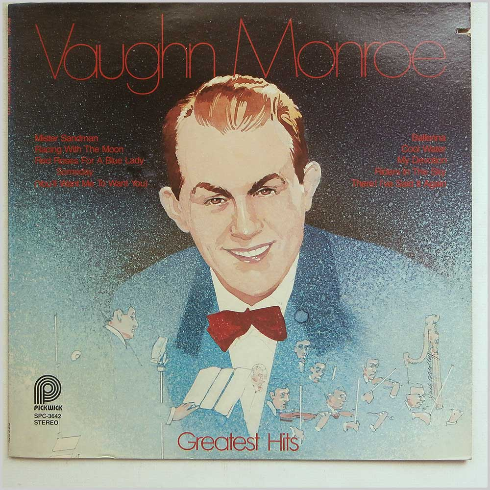 Vaughn Monroe - The Greatest Hits Of Vaughn Monroe (SPC-3642)
