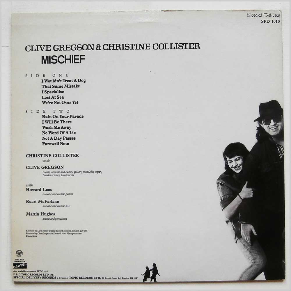 Clive Gregson and Christine Collister - Mischief (SPD 1010)