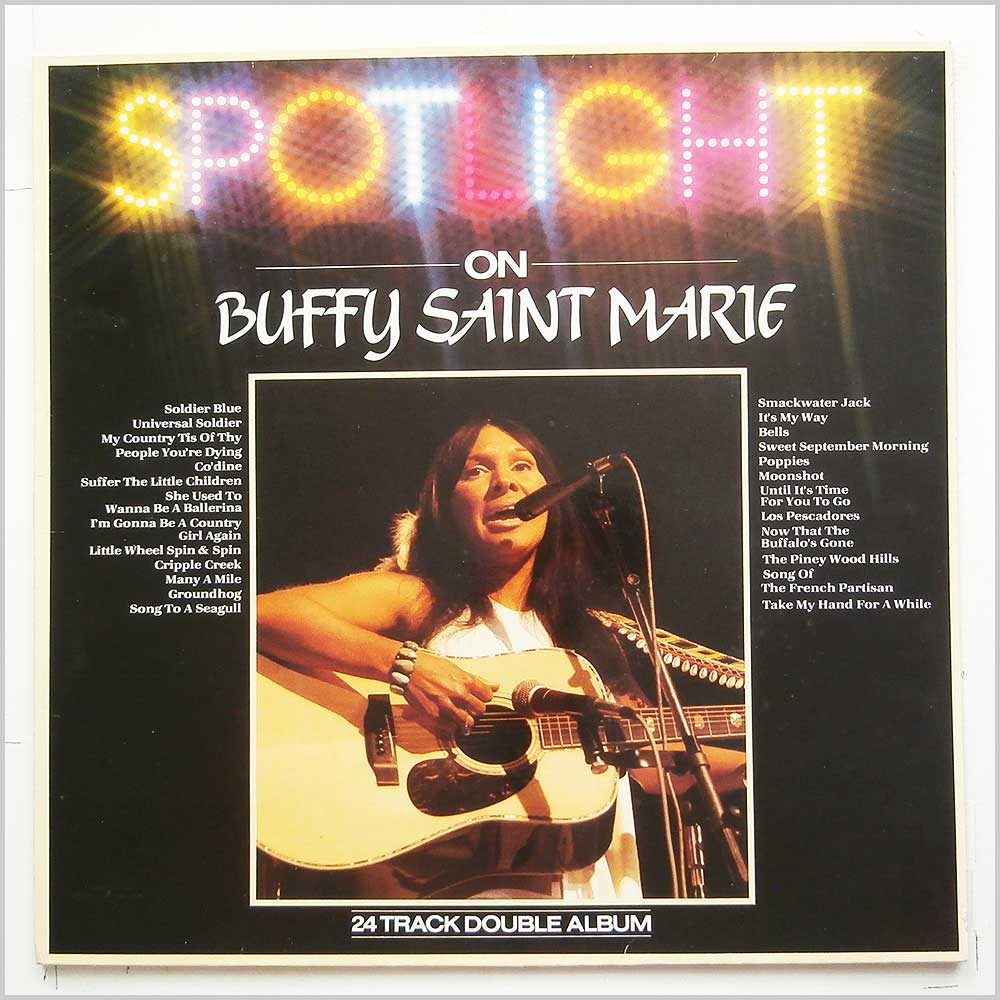 Buffy Saint Marie - Spotlight On Buffy Saint Marie (SPOT 1018)