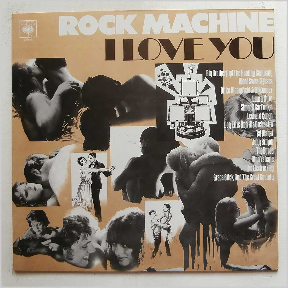 Various - Rock Machine: I Love You (SPR 26)