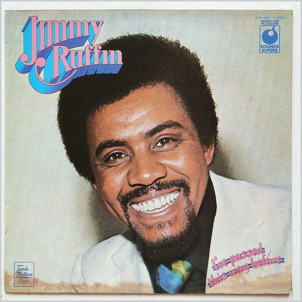 Jimmy Ruffin - I've Passed This Way Before (SPR 90041)