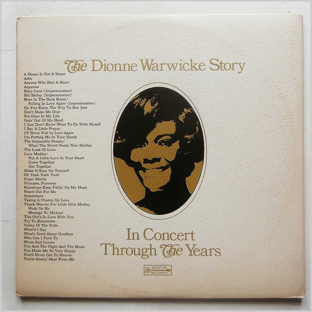 Dionne Warwick - A Decade Of Gold: The Dionne Warwicke Story (SPS 2-596)