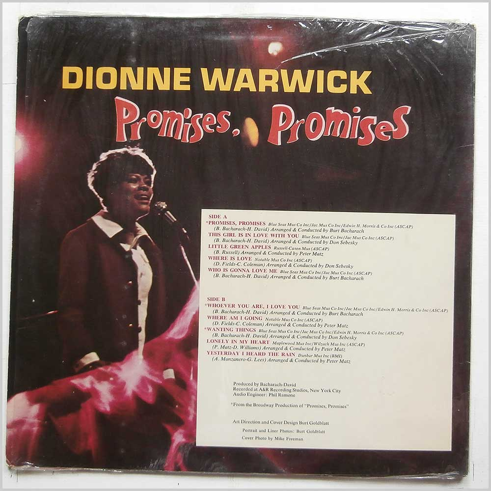 Dionne Warwick - Promises, Promises (SPS-571)