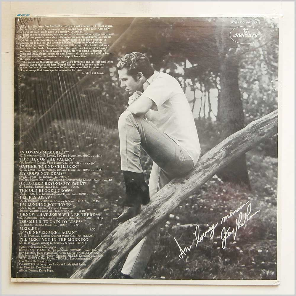 Jerry Lee Lewis - In Loving Memories: The Jerry Lee Lewis Gospel Album (SR 61318)