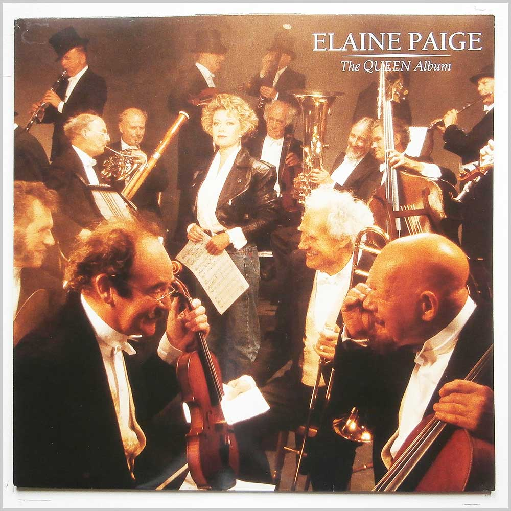 Elaine Page - The Queen Album (SRNLP 22)