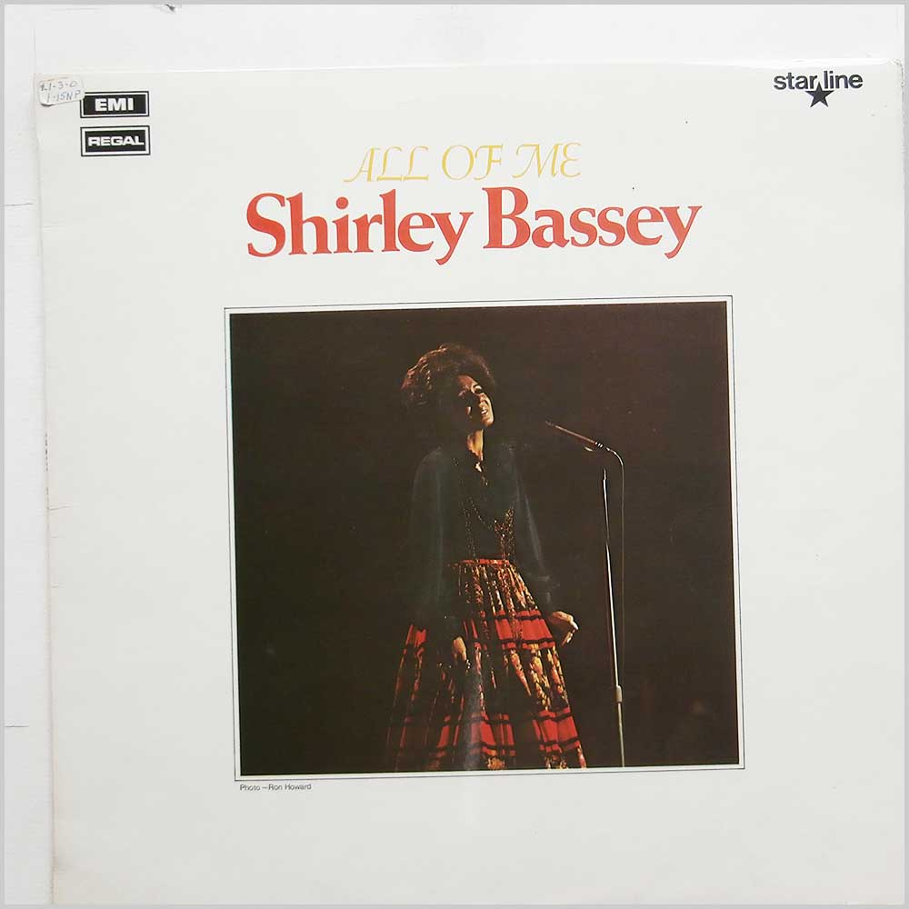 Shirley Bassey - All Of Me (SRS 5032)