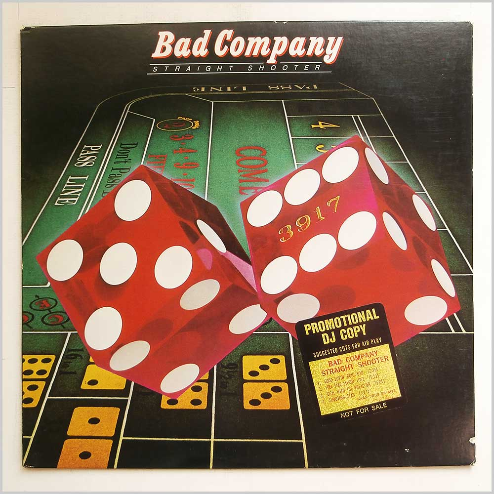 Bad Company - Straight Shooter (SS 8413)