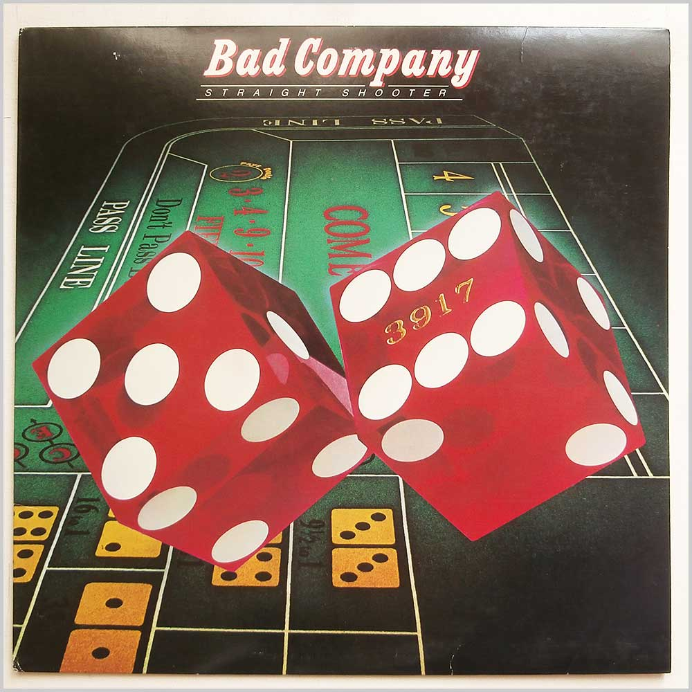 Bad Company - Straight Shooter (SS 8502)