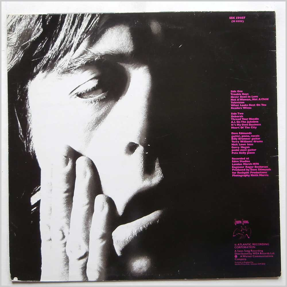 Dave Edmunds - Tracks On Wax 4 (SSK 59407)