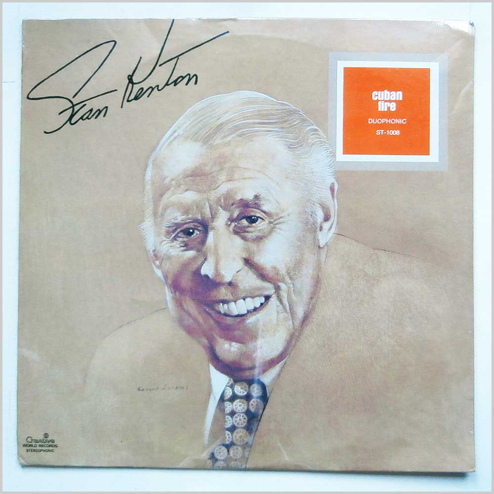 Stan Kenton - Cuban Fire! (ST 1008)