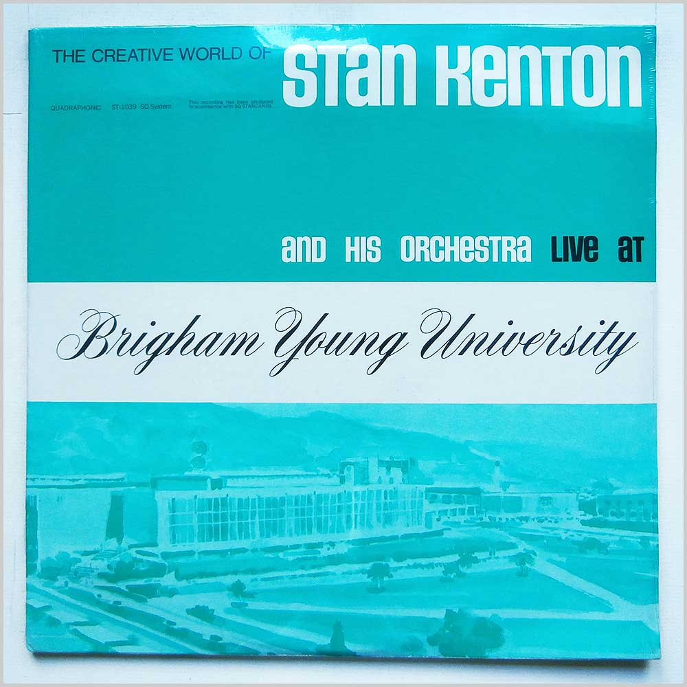 Stan Kenton - Live At Brigham Young University (ST-1039)