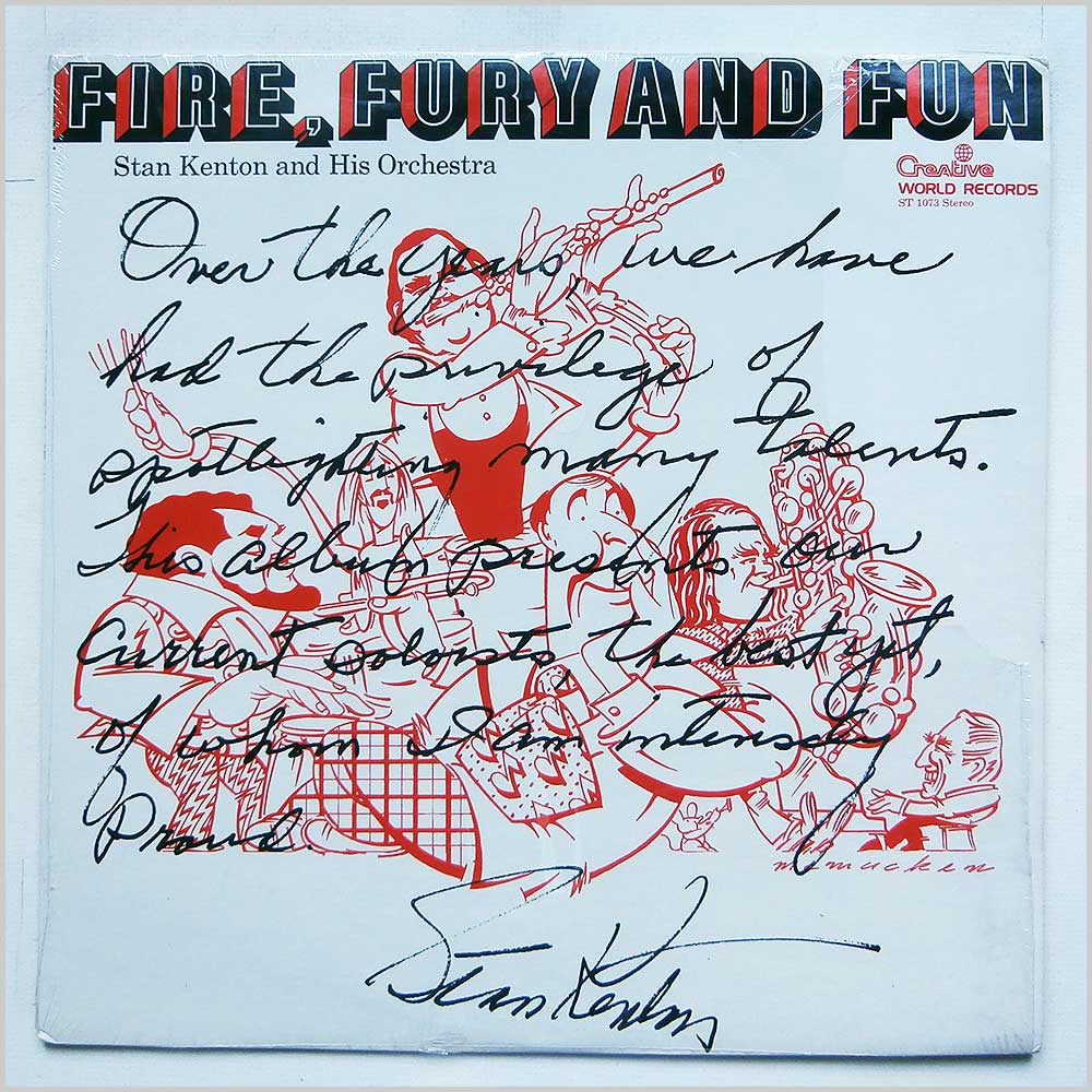 Stan Kenton - Fire, Fury And Fun (ST 1073)