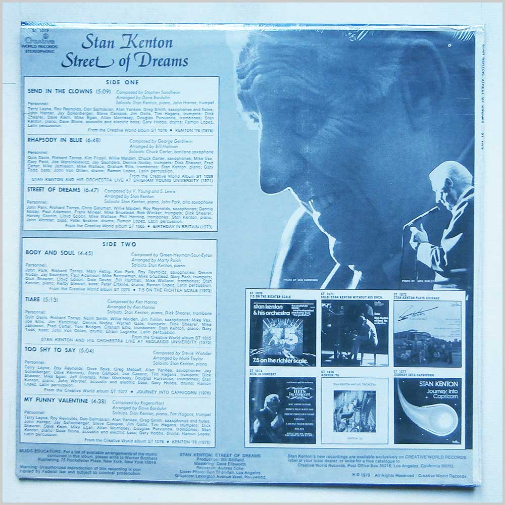 Stan Kenton - Street Of Dreams (ST 1079)