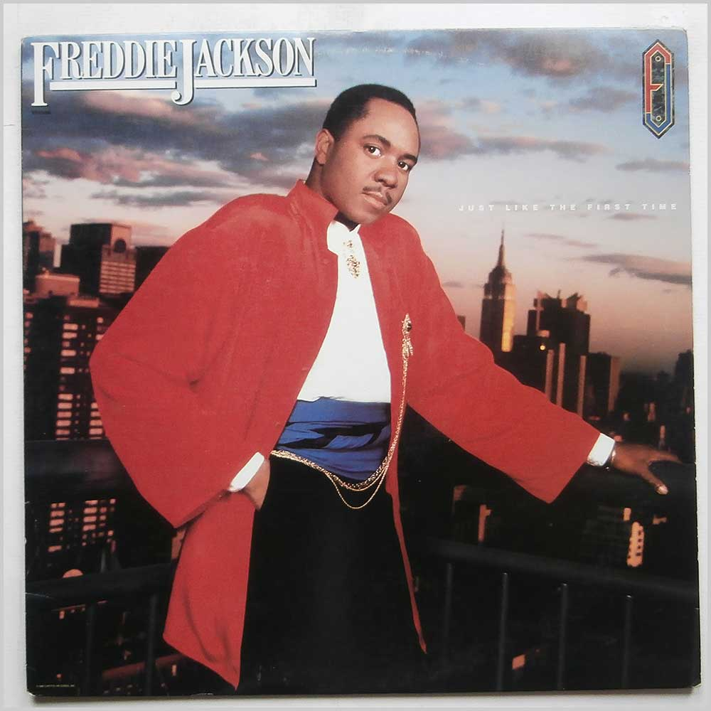Freddie Jackson - Just Like The First Time (ST-12495)