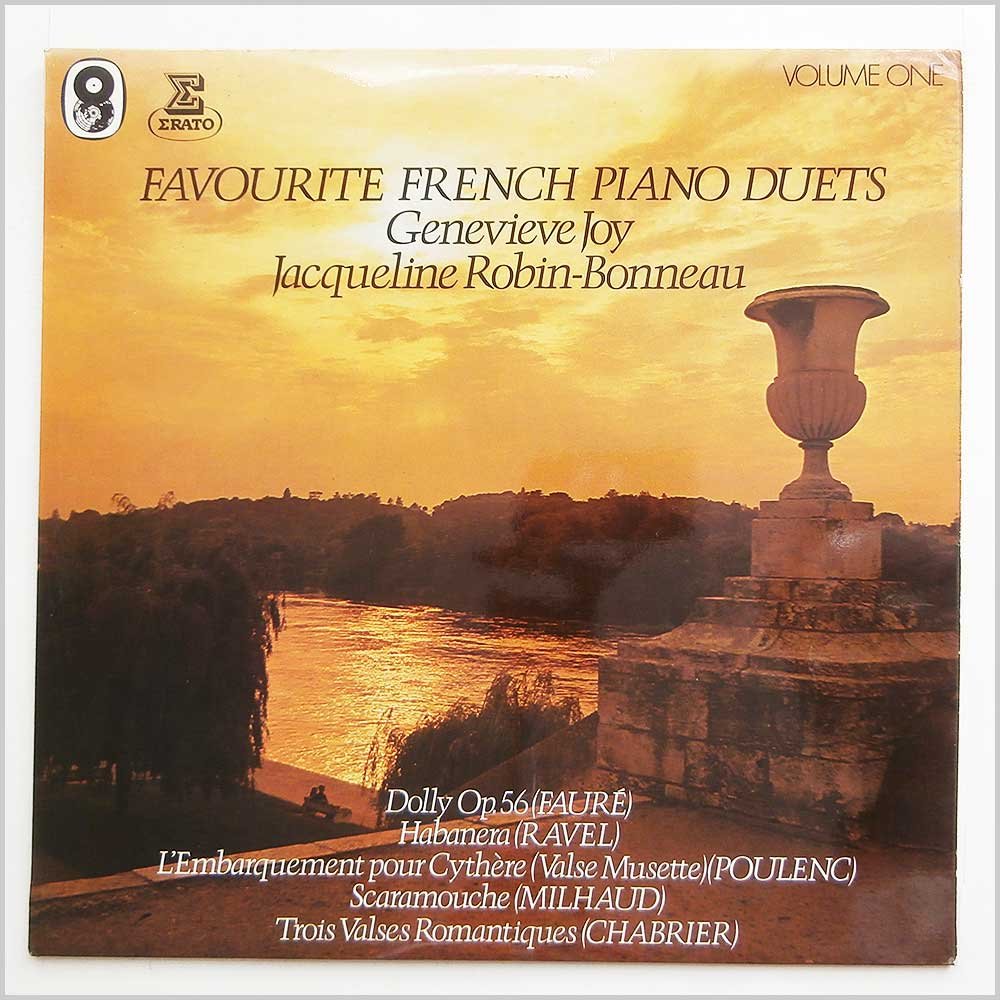 Genevieve Joy and Jaqueline Robin-Bonneau - Favourite French Piano Duets Volume One (ST 999)