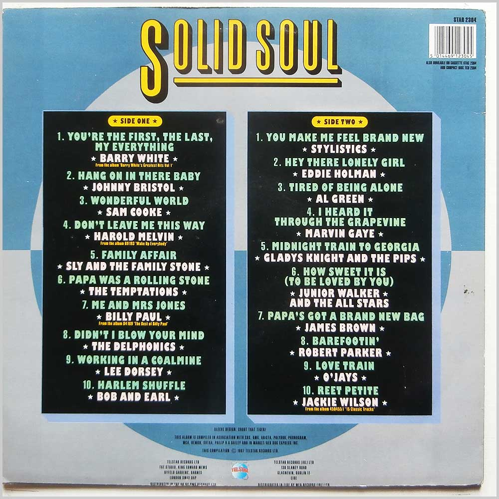 Various - Solid Soul (STAR 2304)