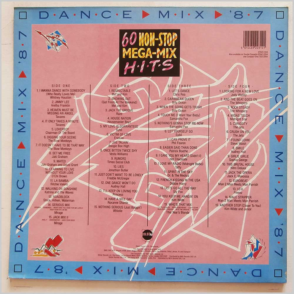 Various - Dance Mix' 87, 60 Non-Stop Mega-Mix Hits (STAR 2314)