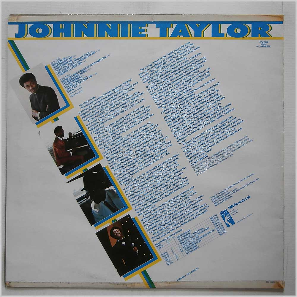 Johnnie Taylor - Chronicle Volume Two 1972-1974 (STM 7002)
