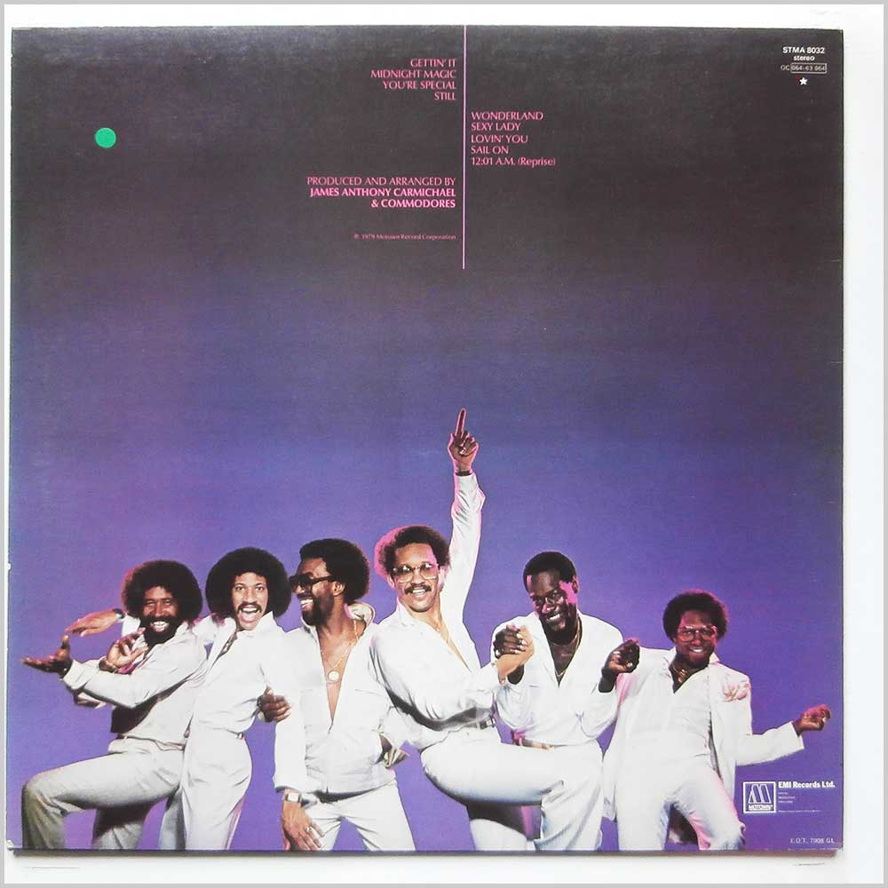 Commodores - Midnight Magic (STMA 8032)