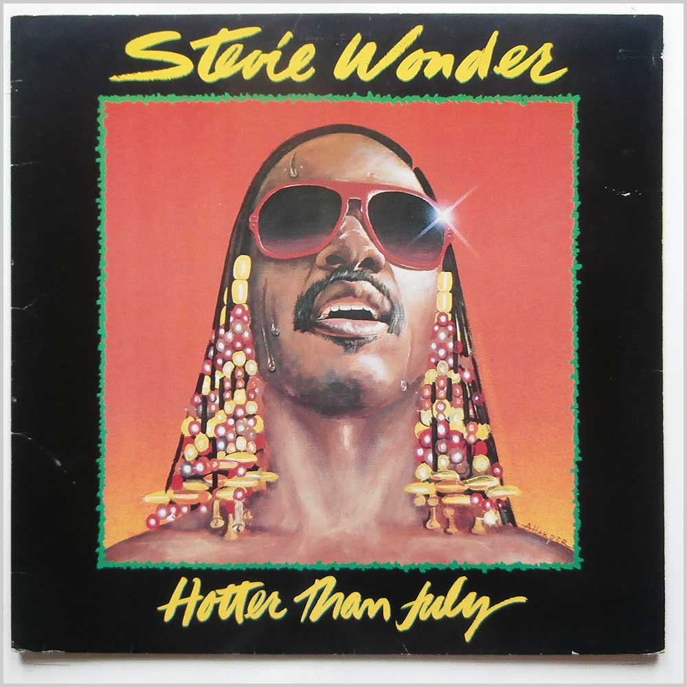 Stevie Wonder - Hotter Than July (STMA 8035)