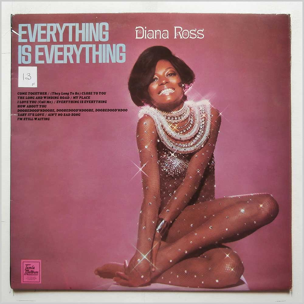 Diana Ross - Everything Is Everything (STML 11178)