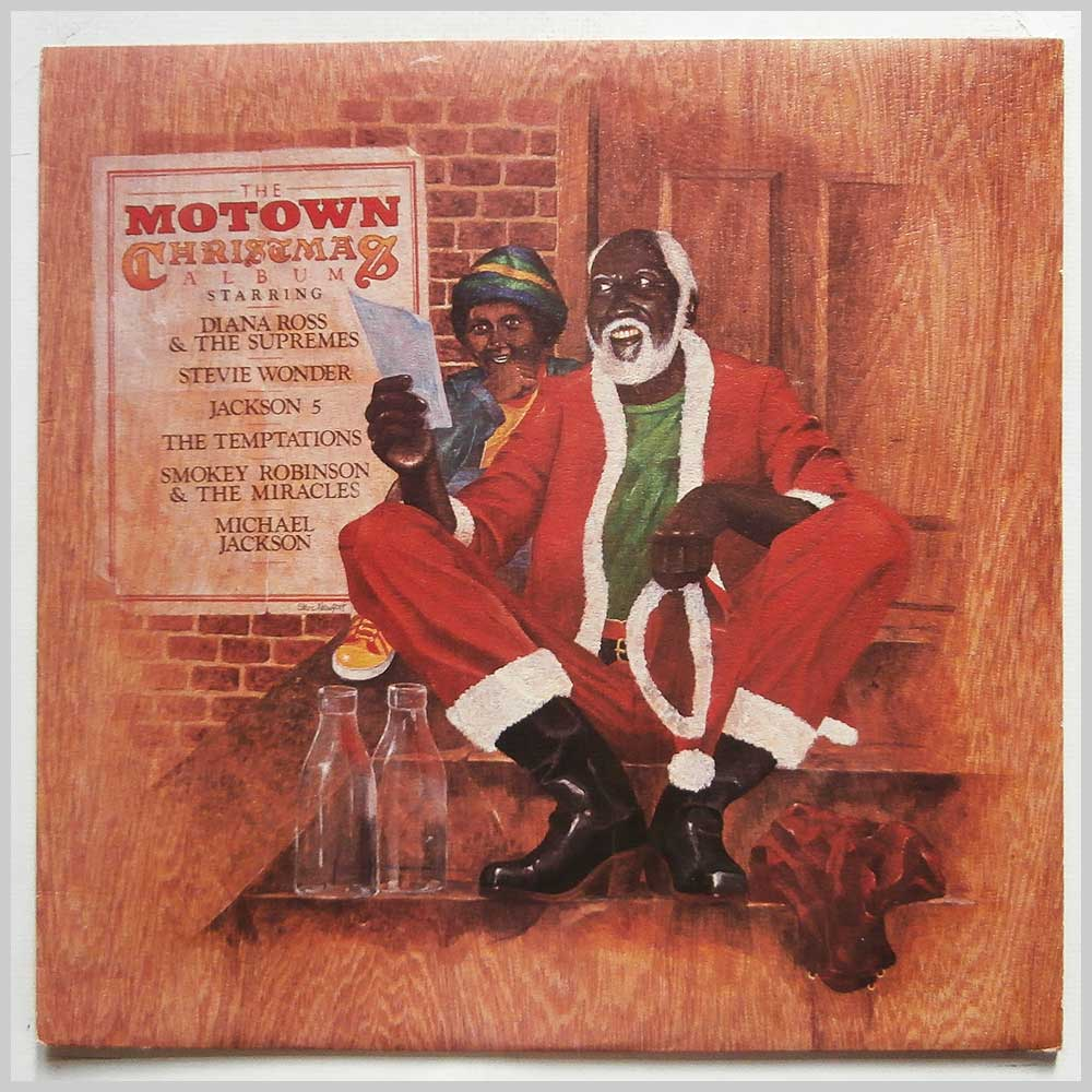 Various - The Motown Christmas Album (STML 12037)