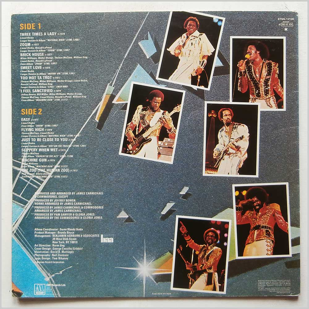 Commodores - Greatest Hits (STML 12100)
