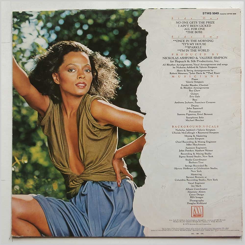 Diana Ross - The Boss (STMS 5049)