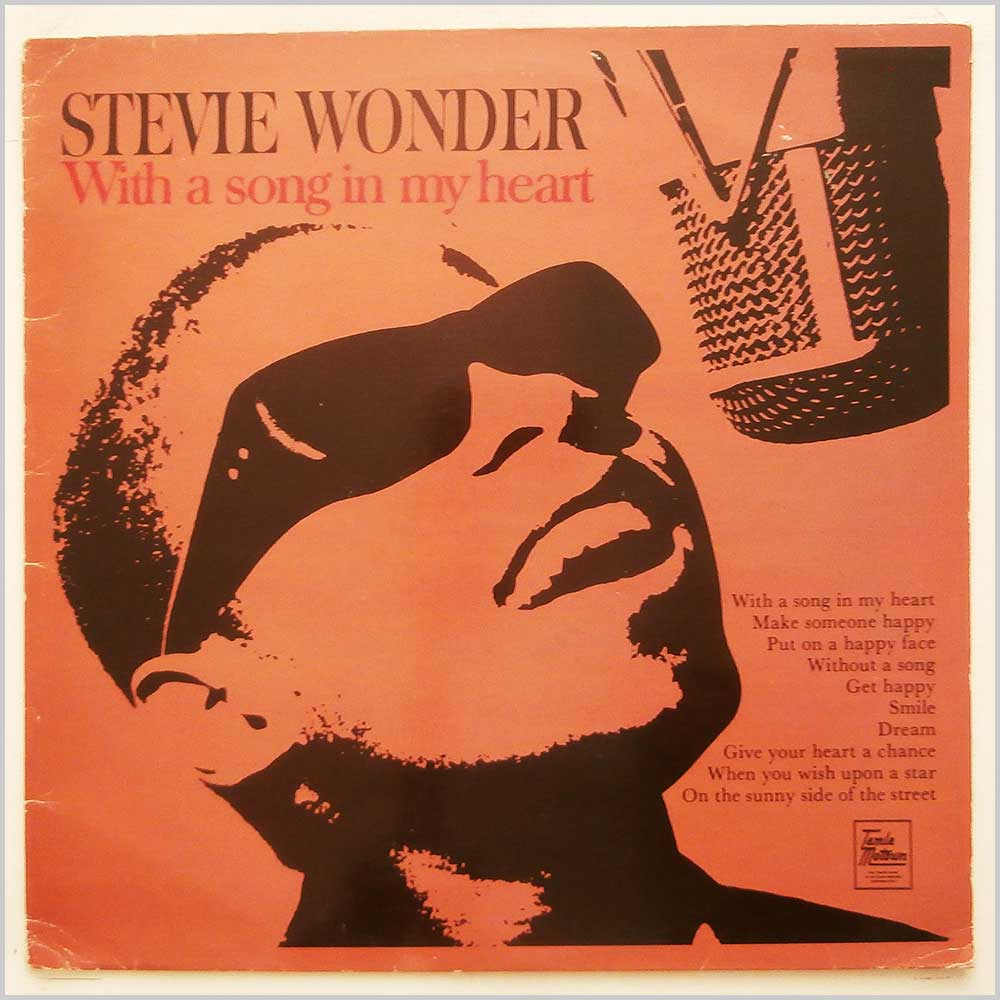 Stevie Wonder - With  A Song in My Heart (STMS 5060)