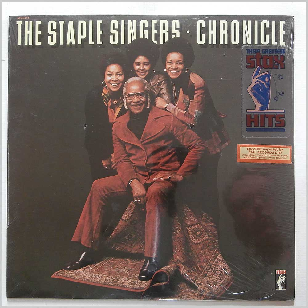 The Staple Singers - Chronicle Their Greatest Stax Hits (STX-4119)