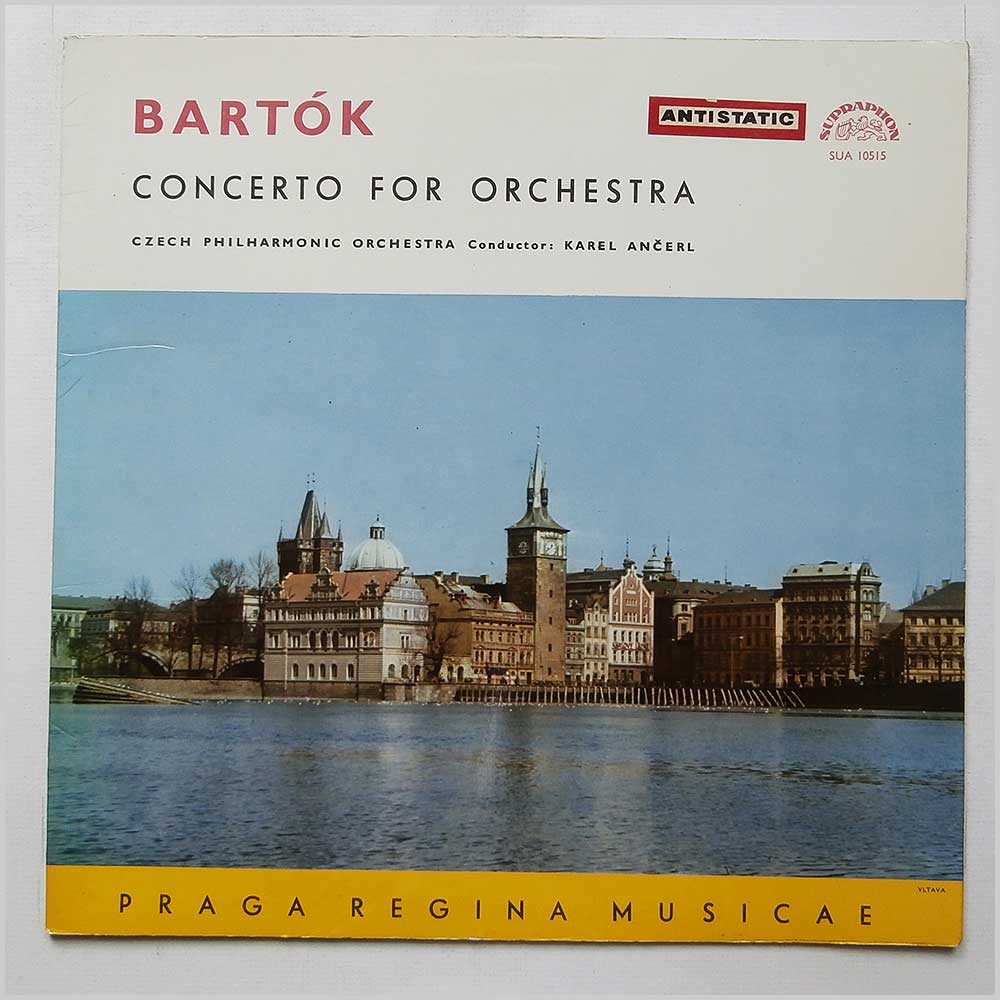 Karel Ancerl and The Czech Philharmonic Orchestra - Bartok Concerto For Orchestra (SUA 10515)