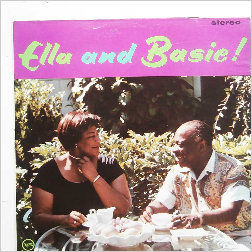 Ella Fitzgerald And Count Basie And His Orchestra - Ella And Basie! (SVLP 9050)