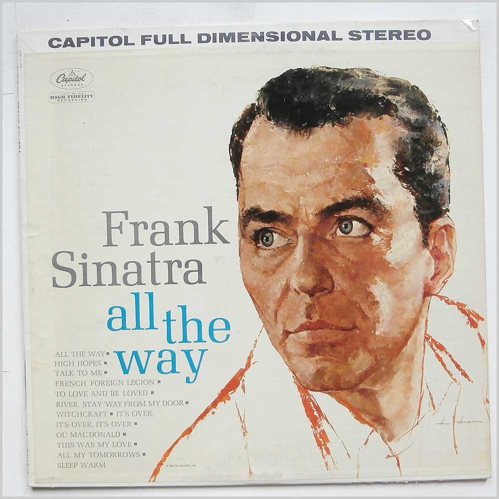 Frank Sinatra - All The Way (SW 1538)