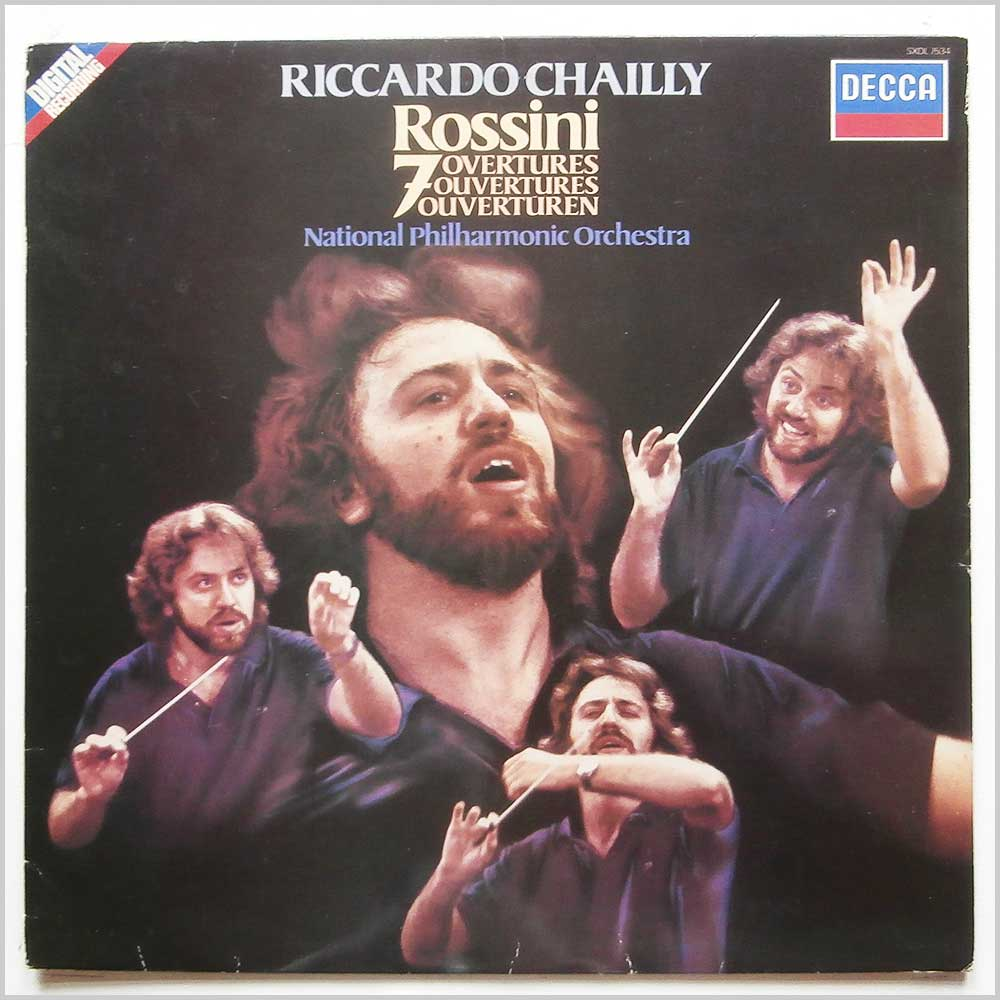 Riccardo Chailly, National Philharmonic Orchestra - Rossini: 7 Overtures (SXDL 7534)