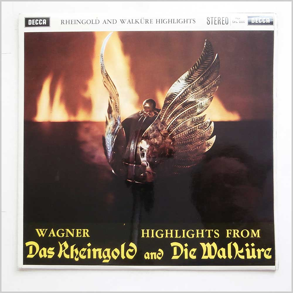 The Vienna Philharmonic Orchestra - Wagner Das Rheingold And Die Walkure (SXL 2230)