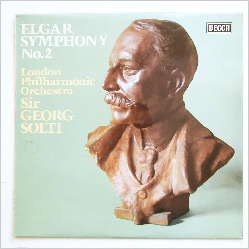 Sir Georg Solti, London Philharmonic Orchestra - Elgar: Symphony No. 2 (SXL 6723)