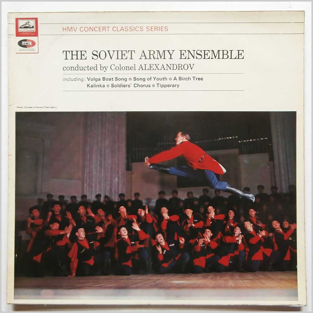 The Soviet Army Ensemble, Colonel Alexandrov - The Soviet Army Ensemble (SXLP 30062)
