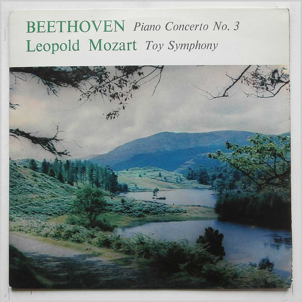 Alexander Jenner, Kurt Richter, Orchestra Of The Vienna Volksoper - Beethoven: Piano Concerto No.3, Leopold Mozart: Toy Symphony (T 124)