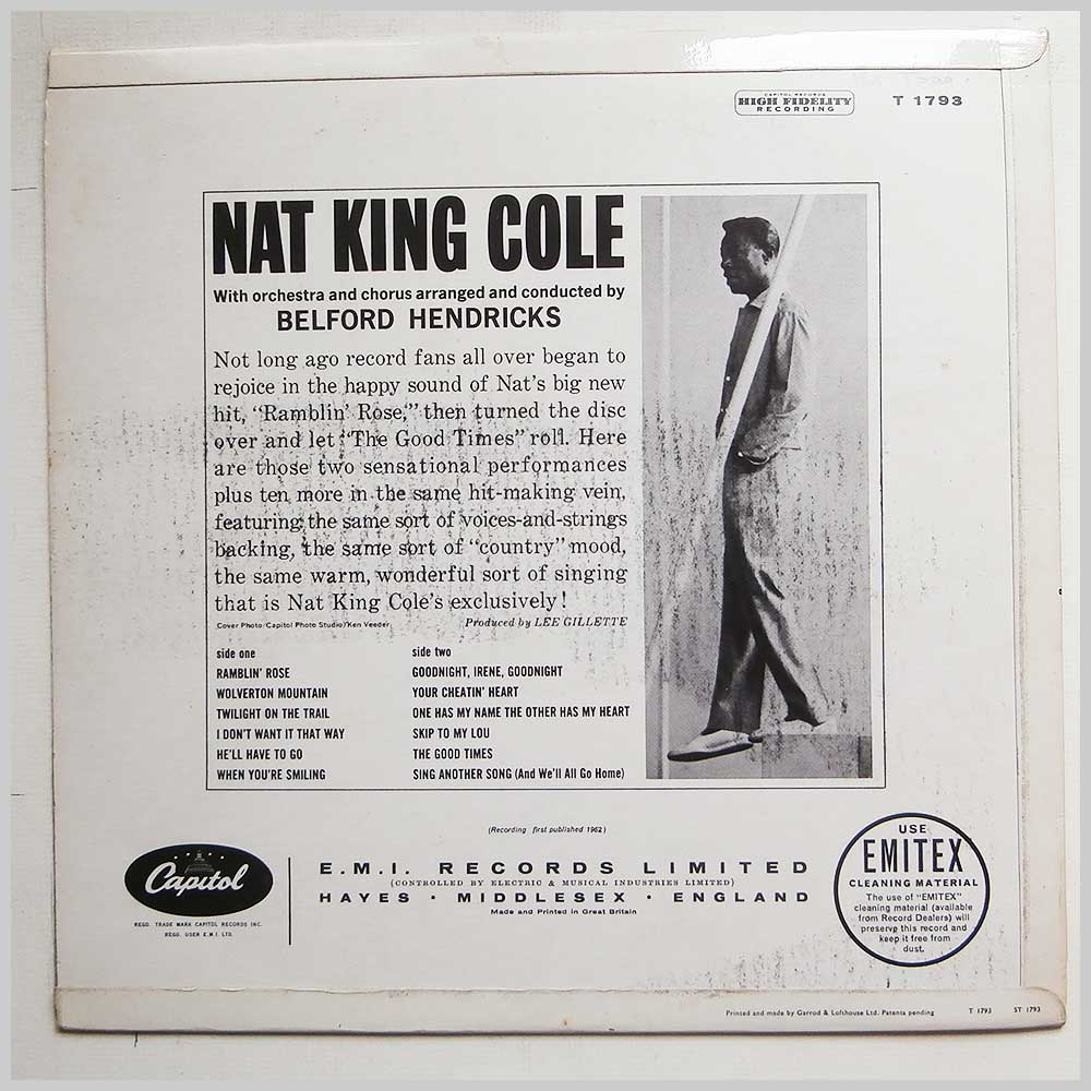Nat King Cole - Ramblin' Rose (T 1793)