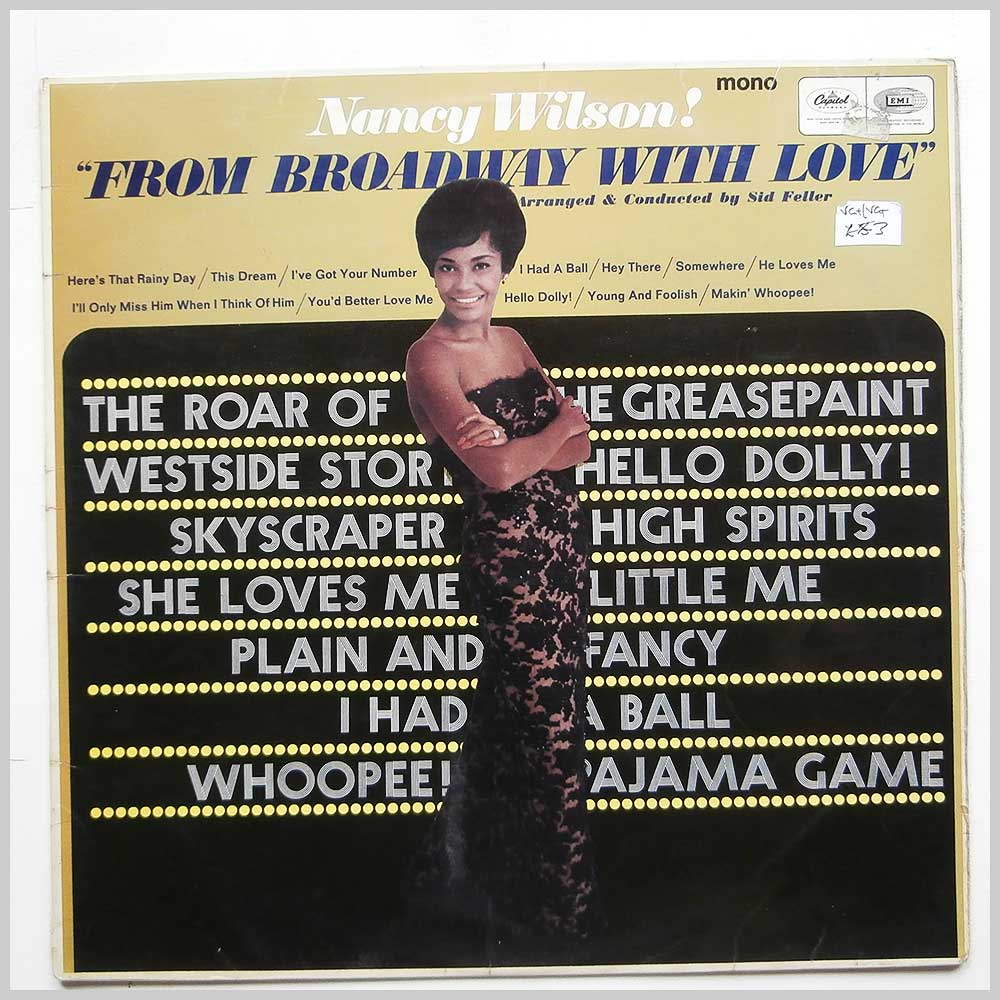 Nancy Wilson - From Broadway With Love (T 2433)