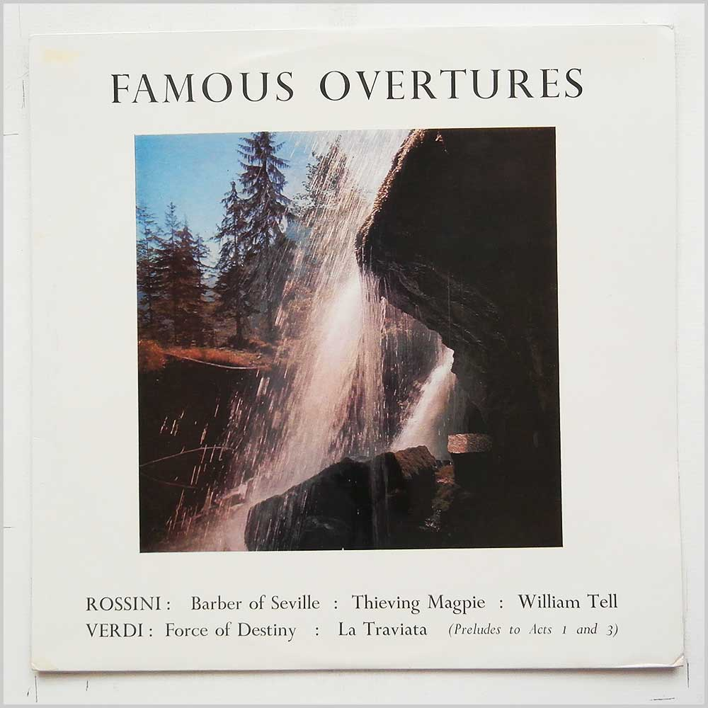 Alexander Gibson, The London Festival Orchestra - Famous Overtures (T 250)