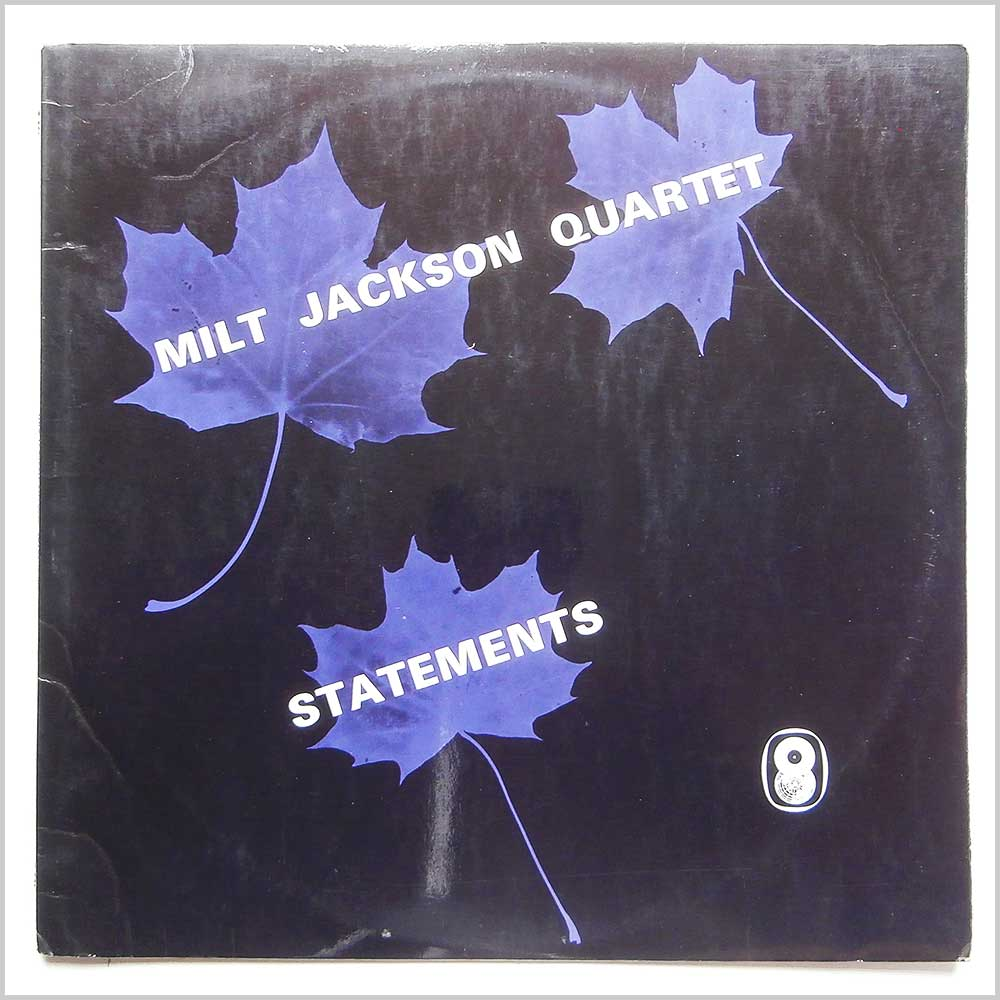 Milt Jackson Quartet - Statements (T 501)